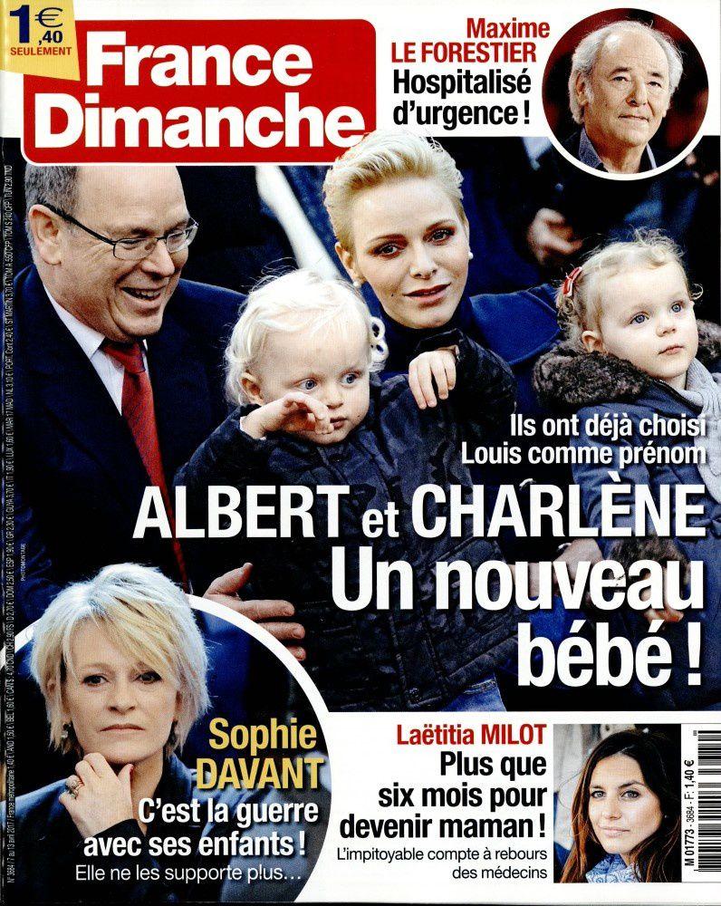 La Une de la presse people : Capucine Anav, Brigitte Macron, Manuel Valls...