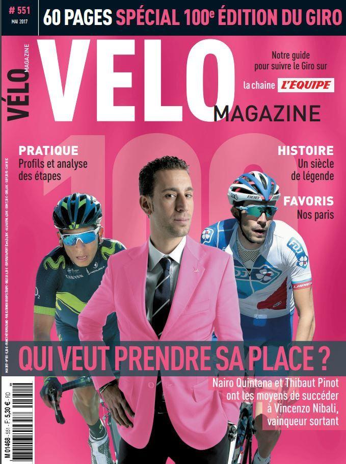 Vélo magazine propose un numéro spécial 100ème édition du Giro.
