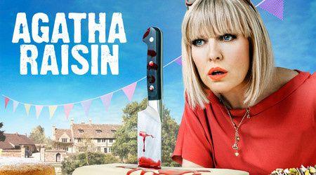 Dès aujourd'hui, Agatha Raisin, nouvelle comédie policière du dimanche soir sur France 3.