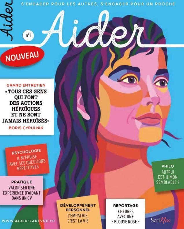 Engagement solidaire : lancement du magazine presse Aider.