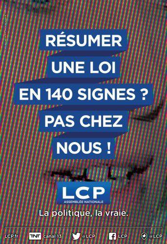 Découvrez la nouvelle campagne de communication de LCP : affiches et film.