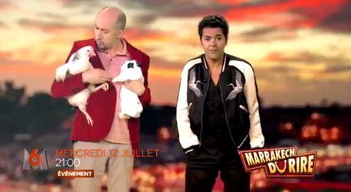 Teaser vidéo du Marrakech du rire sur M6, avec Jamel Debbouze.