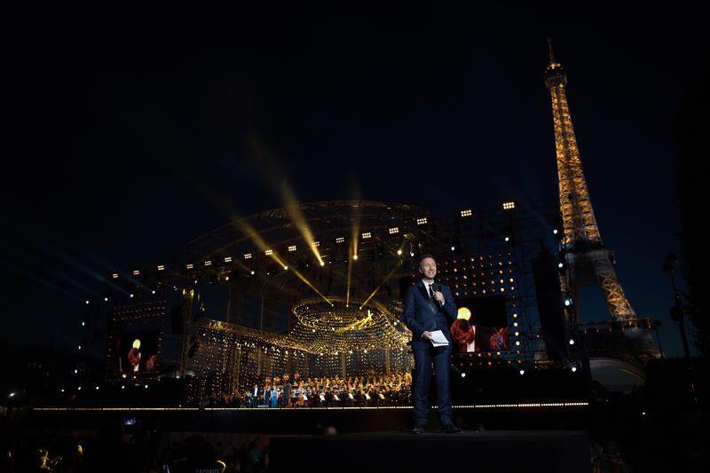 Liste des airs joués et interprétés lors du concert de Paris ce 14 juillet au Champ-de-Mars.