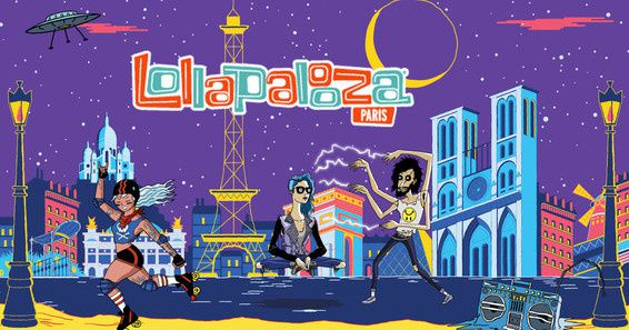 Des concerts du Festival Lollapalooza à Paris diffusés en direct ce week-end.
