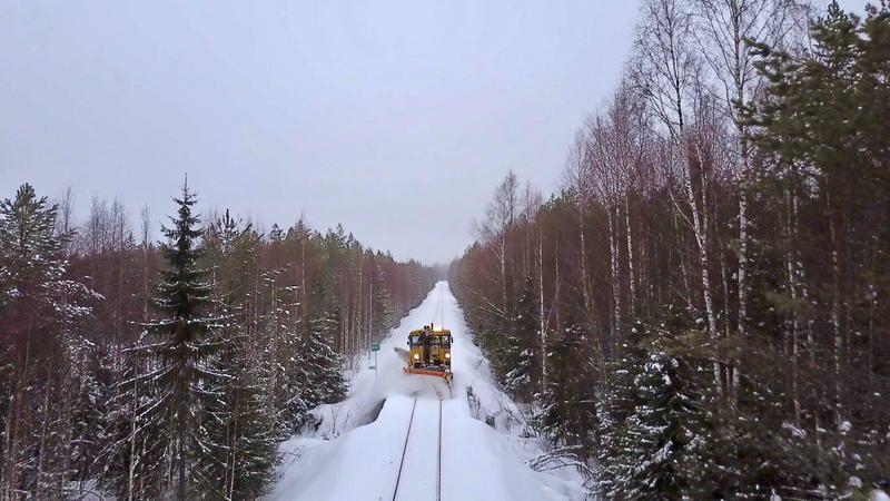 Des trains pas comme les autres : numéro inédit en Finlande, ce jeudi.