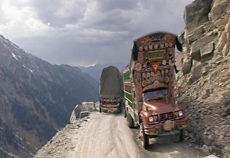 Numéro inédit des Routes de l'impossible ce vendredi, au Pakistan.