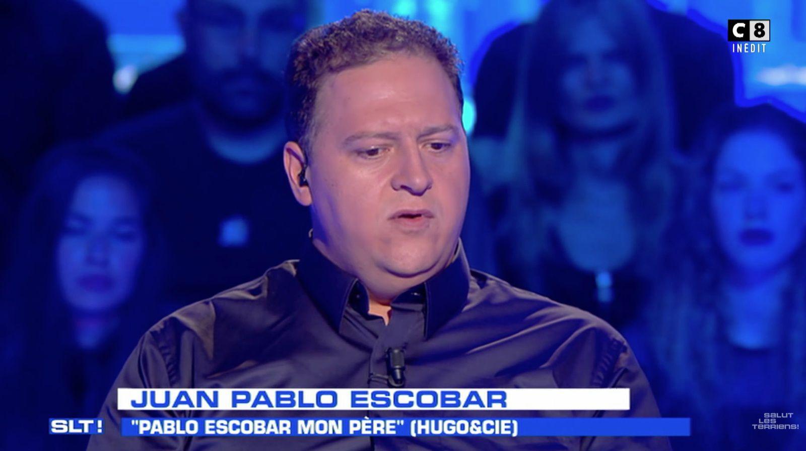 Juan Pablo Escobar en colère contre Salut les terriens, suite à un gag d'Ardisson (vidéo).