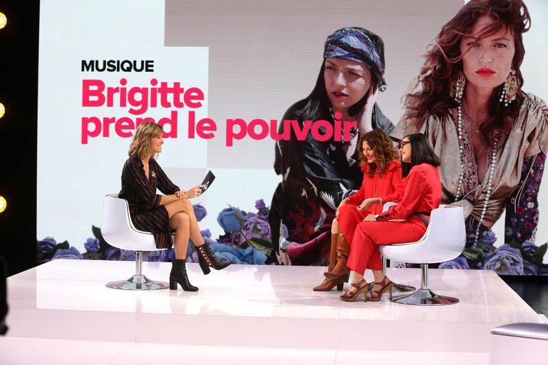 Le Tube ce samedi : les Brigitte, Edouard Baer, Warner TV et Sarahah.