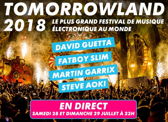 Le Festival Electro Tomorrowland En Direct Sur Mtv Ce Week End