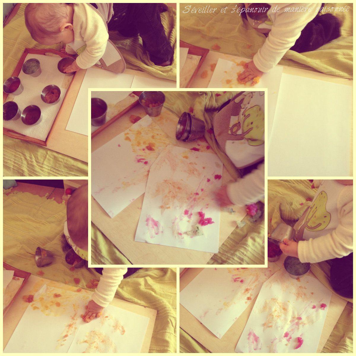 DIY - Peinture à doigts