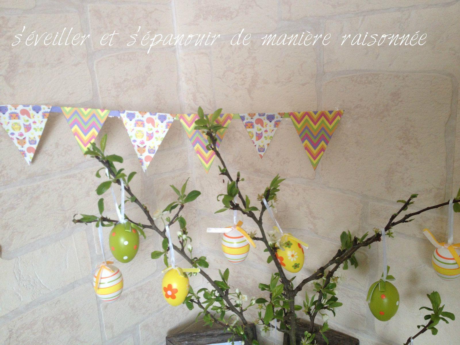 Table des saisons – Arbre de Pâques