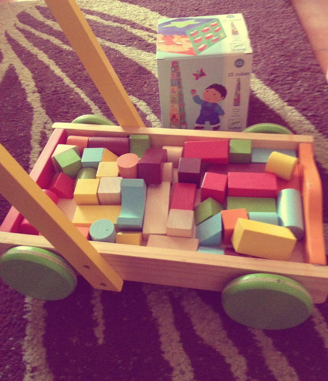 Mes jouets : le top 3 de Bébé Chameau (15-18 mois)