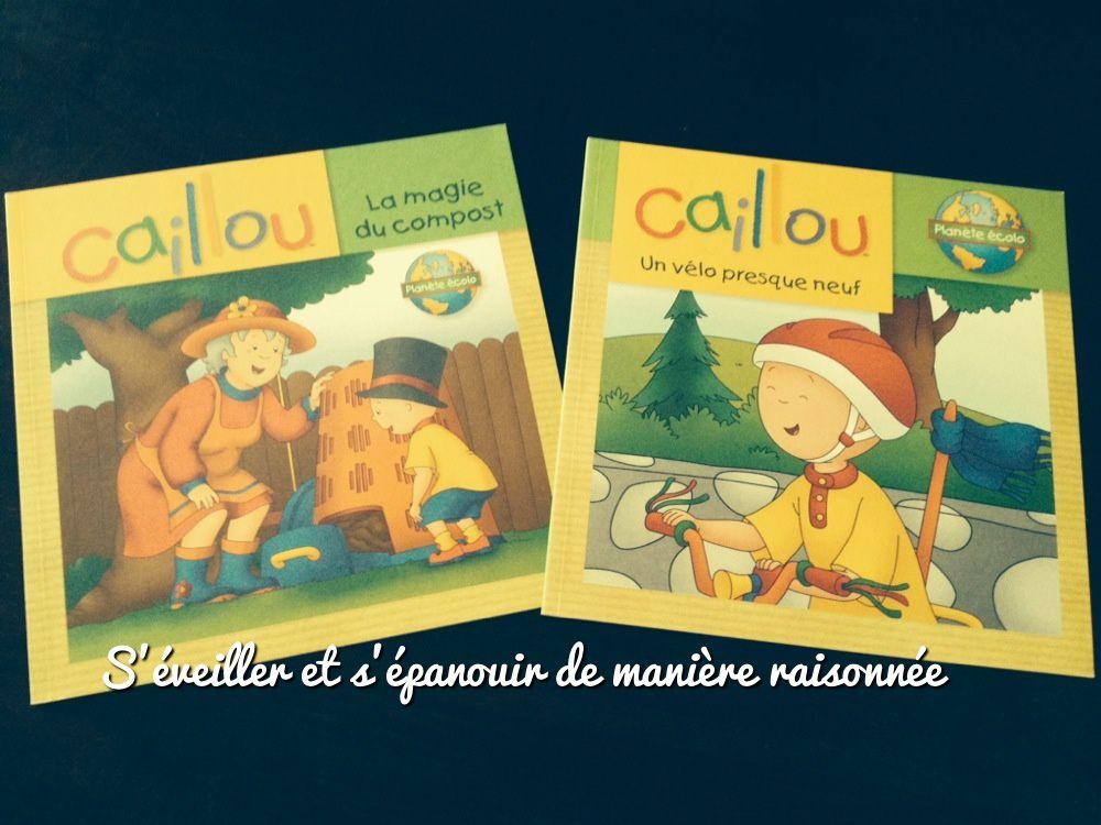 Caillou aux éditions Chouette