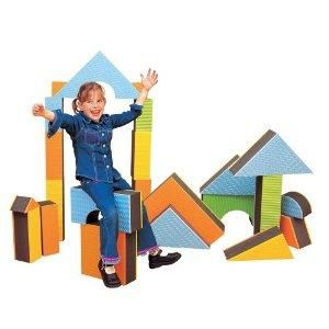 Edushape Jumbo Textured Blocks 16 Pieces