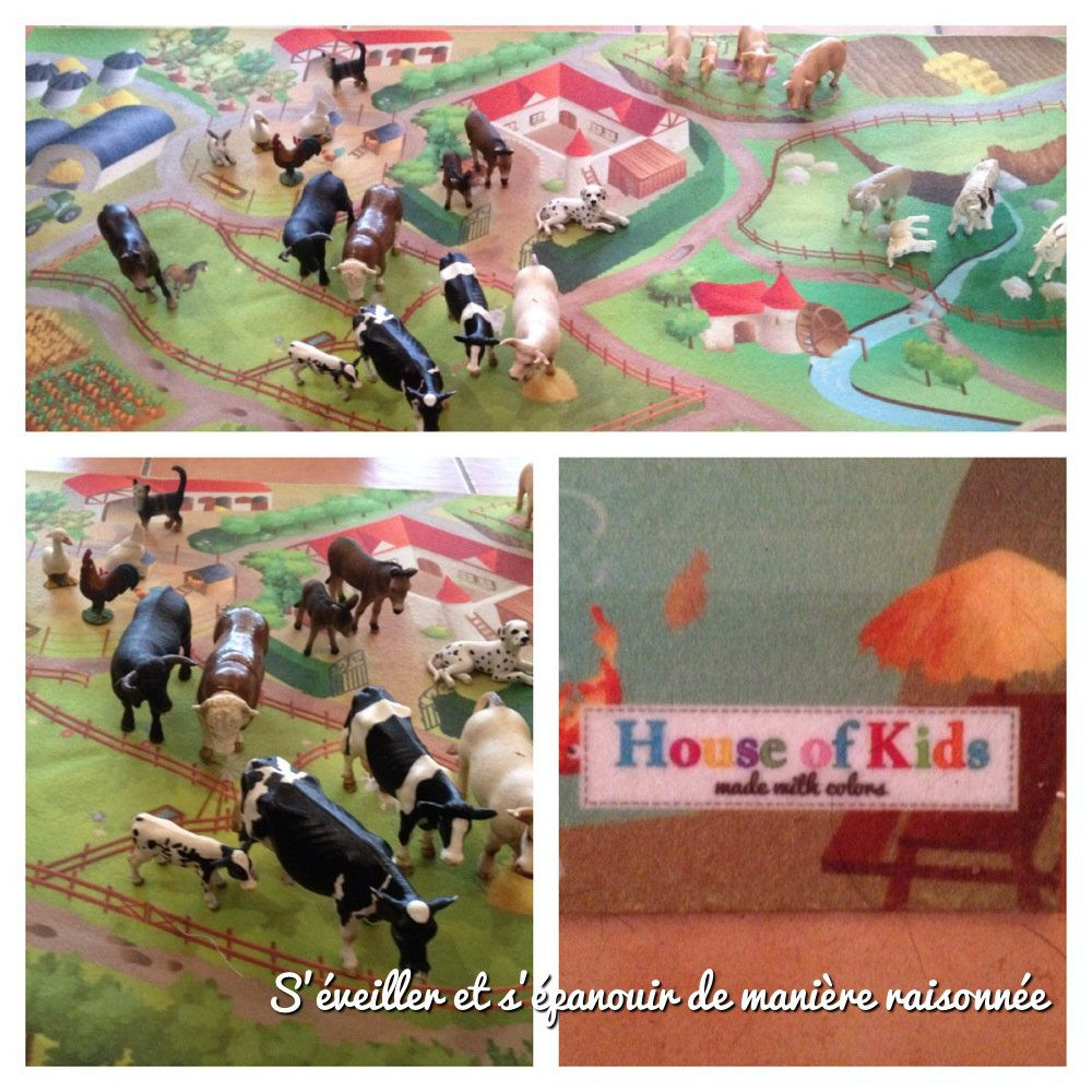 Tapis Ferme de &quot&#x3B;House of kids&quot&#x3B;