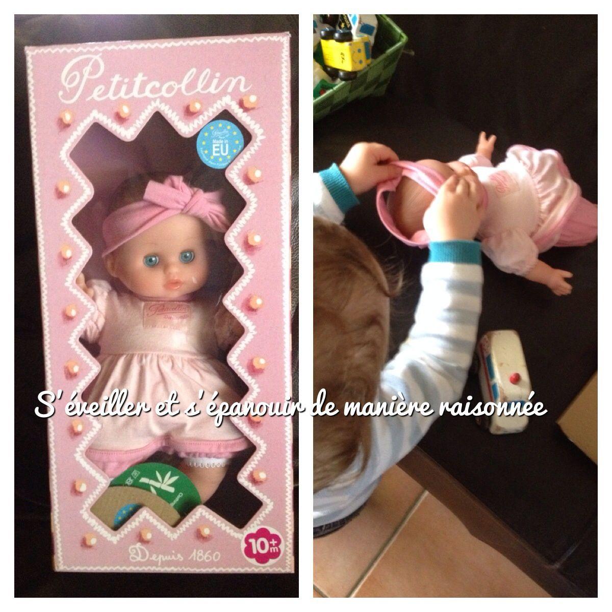Une poupée écolo (matières naturelles et écologiques) - Petitcollin chez Sebio