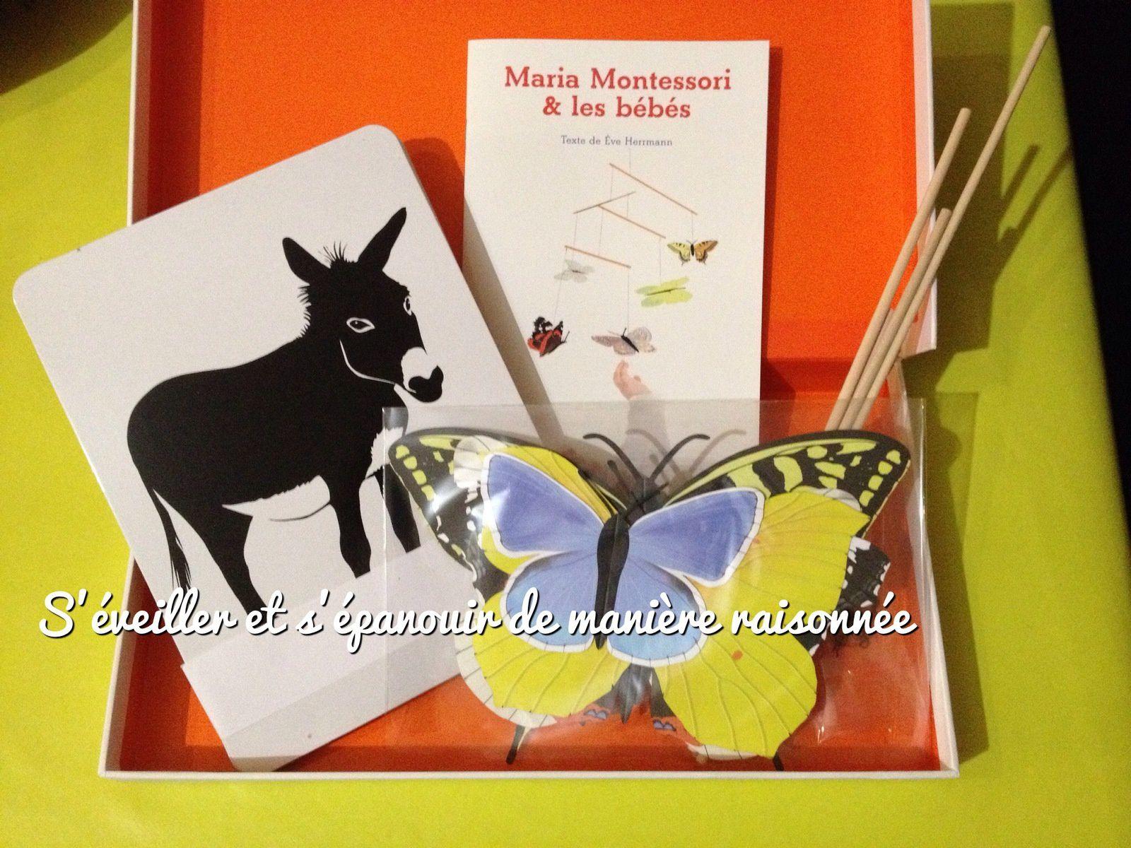 &quot&#x3B;Mon coffret bébé Montessori&quot&#x3B; de chez Nathan
