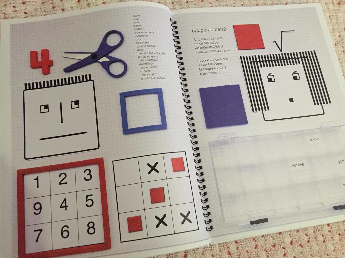 Un livre loufoque sur les formes &quot&#x3B;L'album en formes&quot&#x3B;