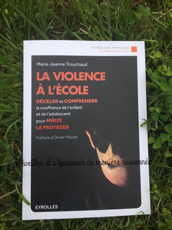 La Violence A L Ecole Un Livre De Marie Jeanne Trouchaud