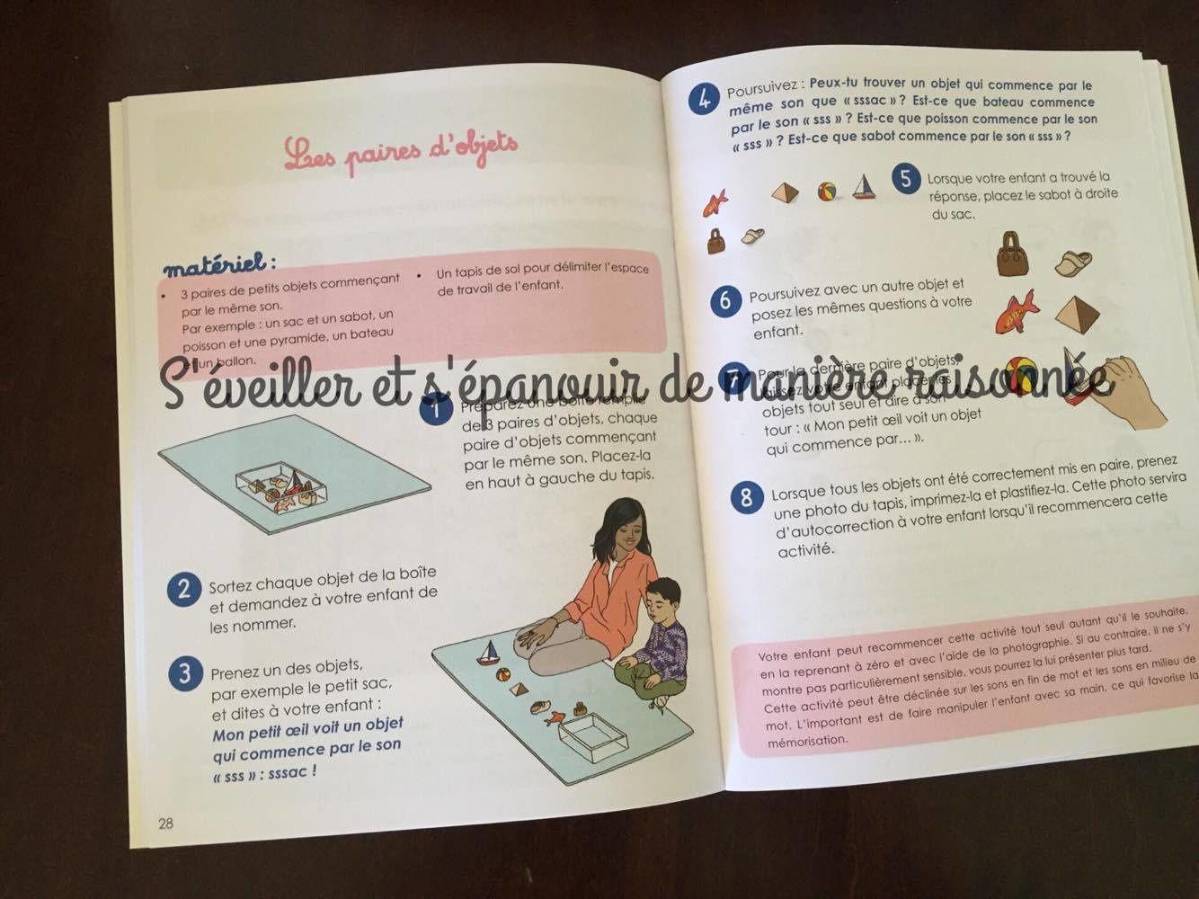 En route vers les sons, lettres et mots avec les cahiers &quot&#x3B;Les petits montessori&quot&#x3B; pour les 3-6 ans