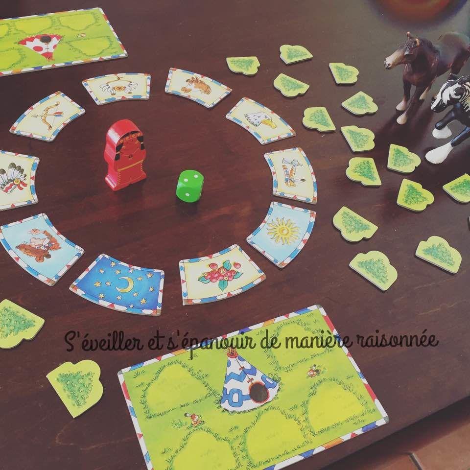 Lumière sur 3 jeux Haba : Le Verger, Dyami l'Indien et Chenilles arc-en-ciel