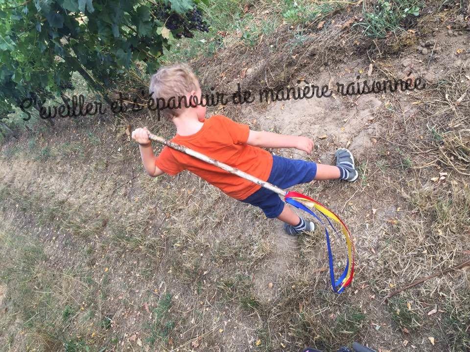 [Activité - DIY] Le bâton insolite