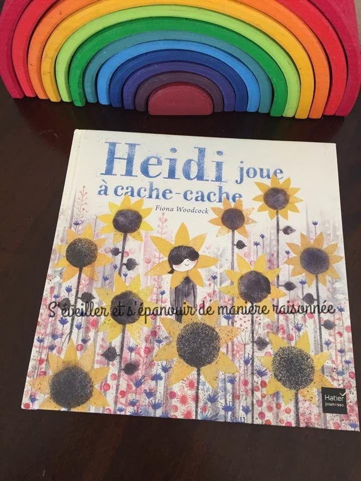 [Biblio] Un album tendre et élégant sur l'amitié et l'acceptation des différences : Heidi joue à cache-cache (Fiona Woodcock)