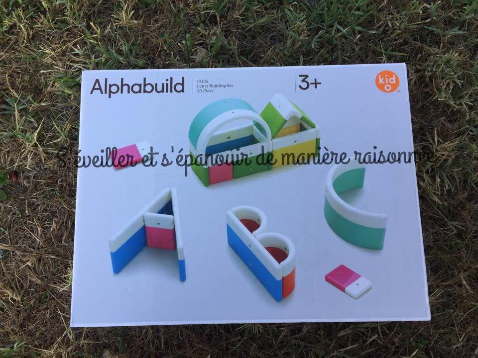 [Ludothèque] Alphabuild, le jeu de construction magnétique alphabet (Hoptoys)