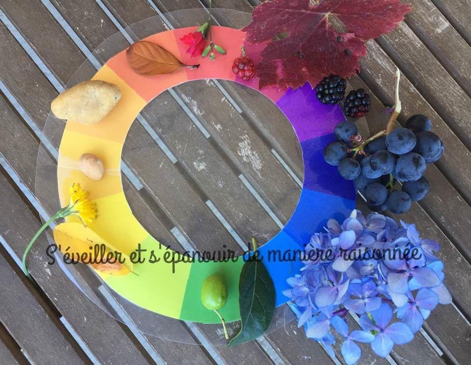 [Activité] Roue des couleurs Nature - Cercle chromatique {Nature Color Wheel}