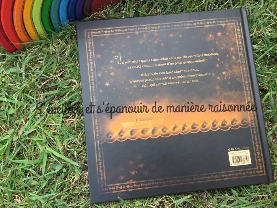 [Biblio] Un livre poétique et unique: Le petit garçon qui aimait la lune