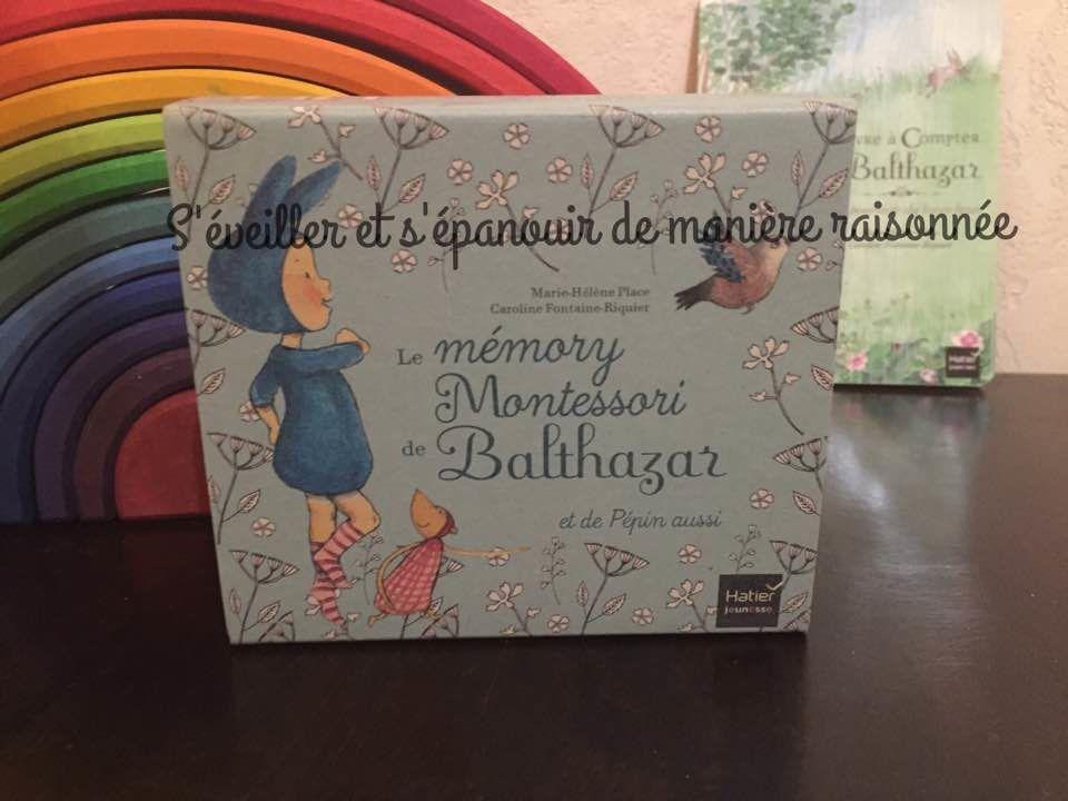 [Ludothèque] Le memory Montessori de Balthazar