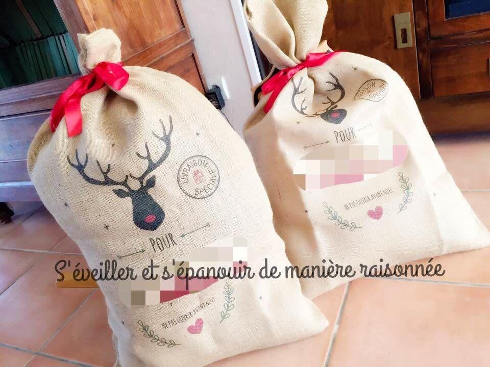 [Zero Dechet] Des sacs personnalisés et durables en toile de jute pour remplacer le papier cadeau (A-qui-S)