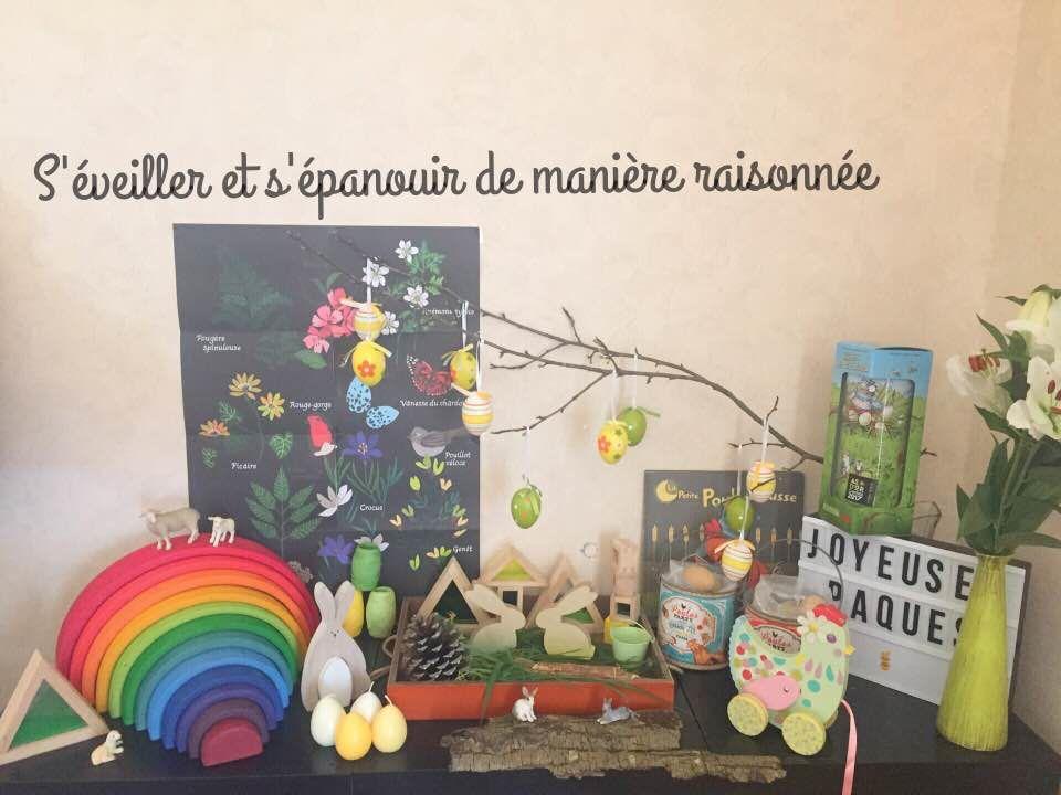 [Activité] Pâques... entre table des saisons, bac sensoriel et littérature jeunesse