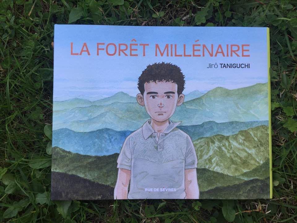 [Biblio] La forêt millénaire, l'album posthume de Jirô Taniguchi, entre BD et manga, tout en émotion