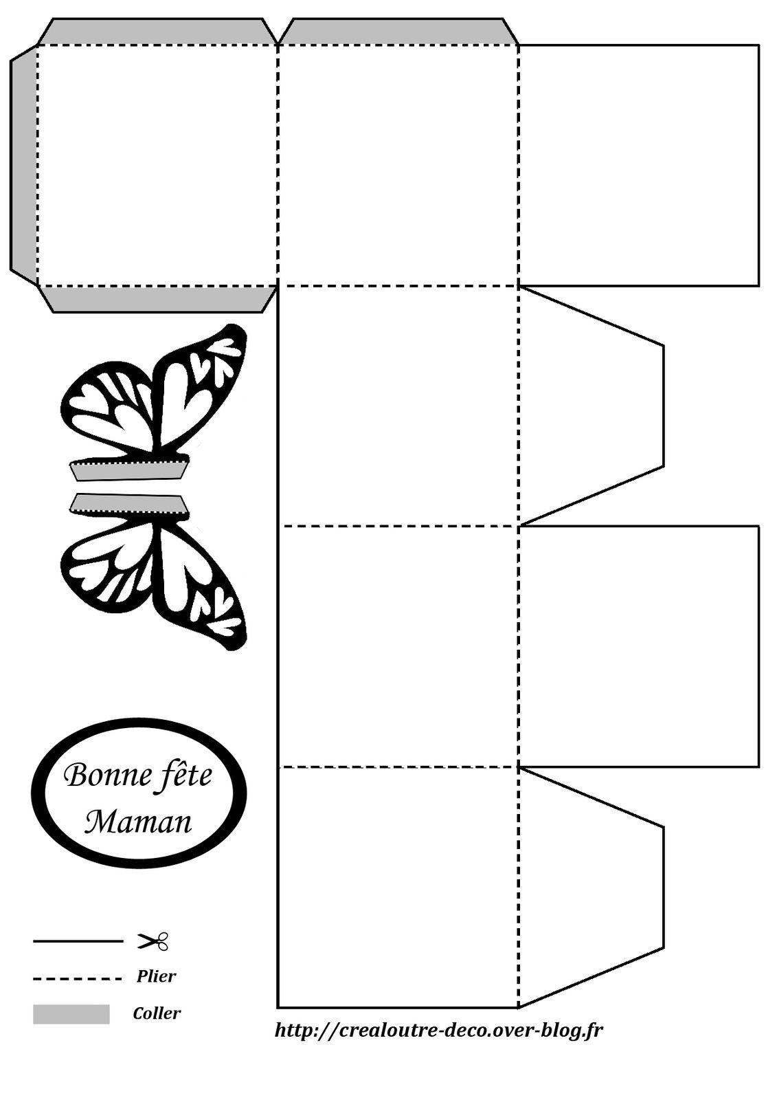 Tuto Boîte Papillon Pour Fête Des Mères Crealoutre