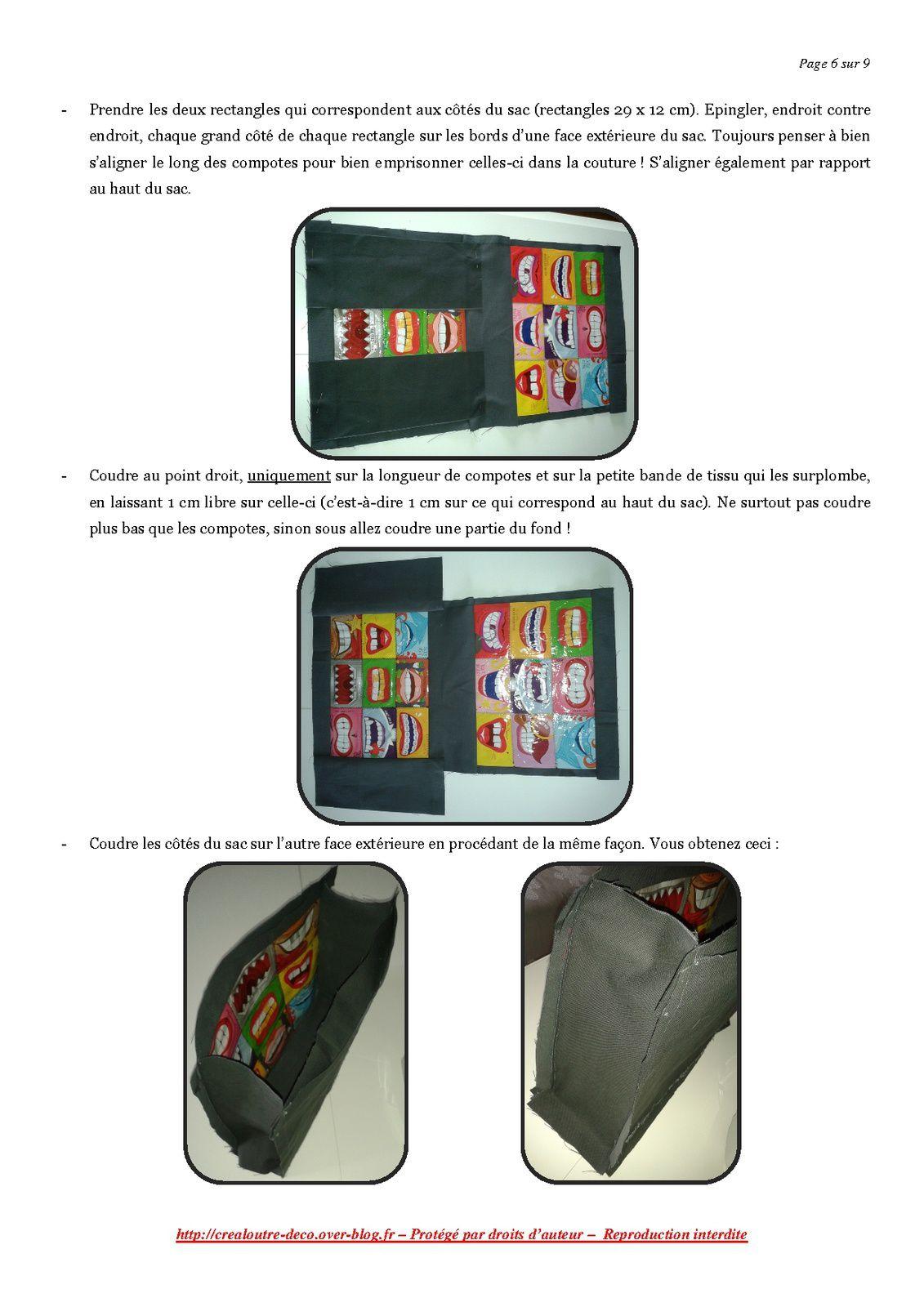 Tuto : le sac récup' de compotes Andros P'tit Dros (upcycling)