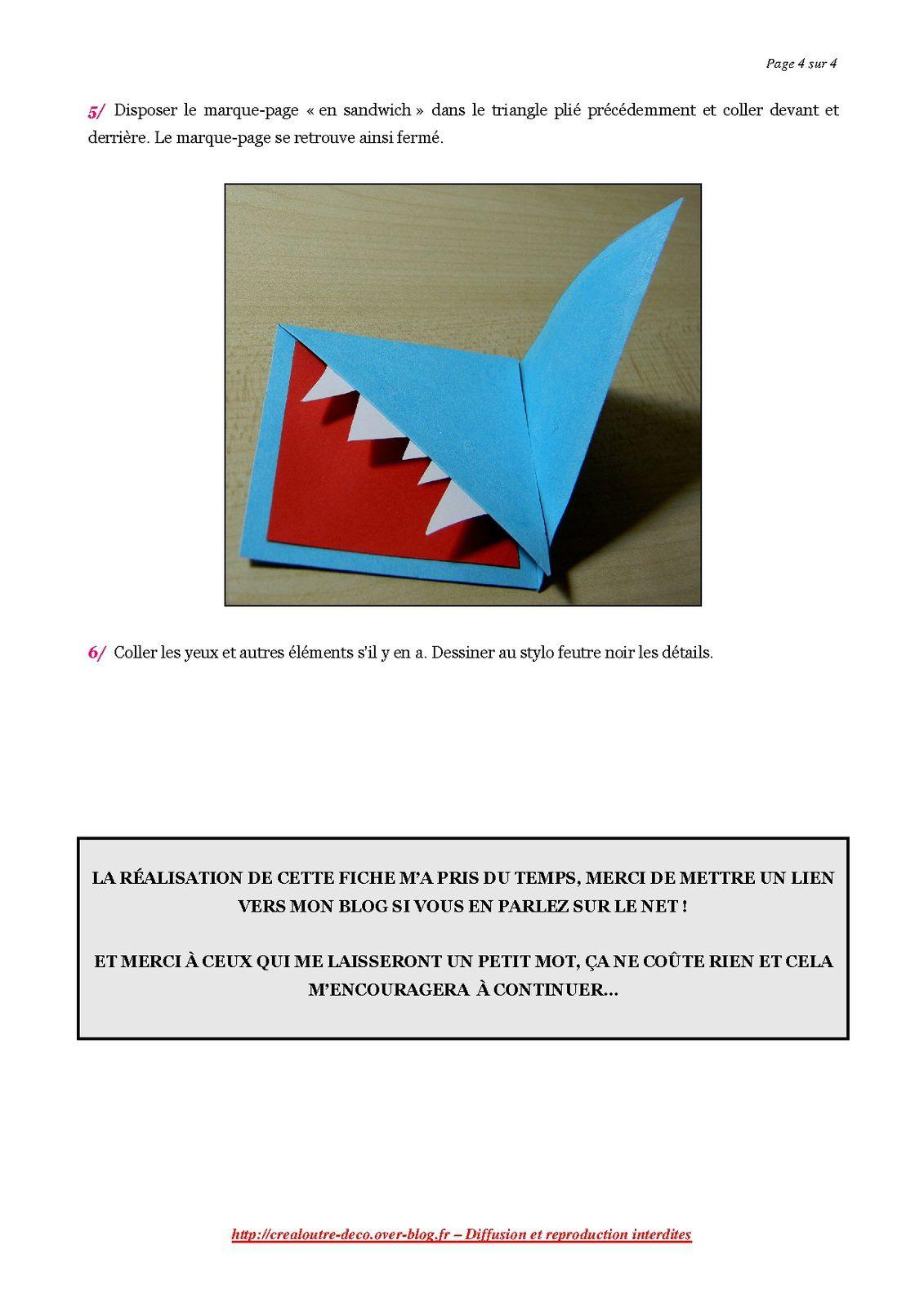 DIY : marque-pages rigolos (tuto)
