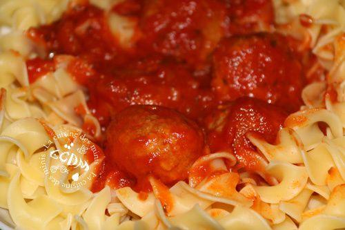 Boulettes de boeuf à la tomate - Cookéo
