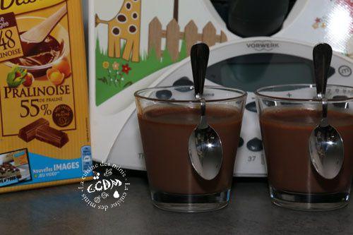Creme dessert pralinoise - Thermomix
