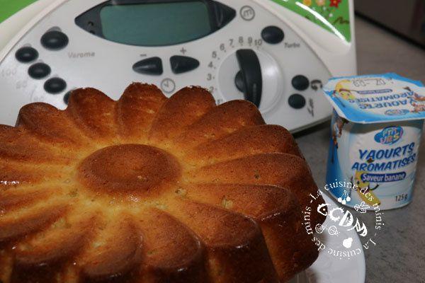 Gâteau au yaourt aromatisé