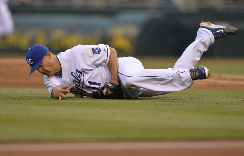 Royals Upended, Drop Game One 16-4