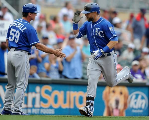 Seven-Run Inning, Three Dingers Lead Royals over Twins 12-6