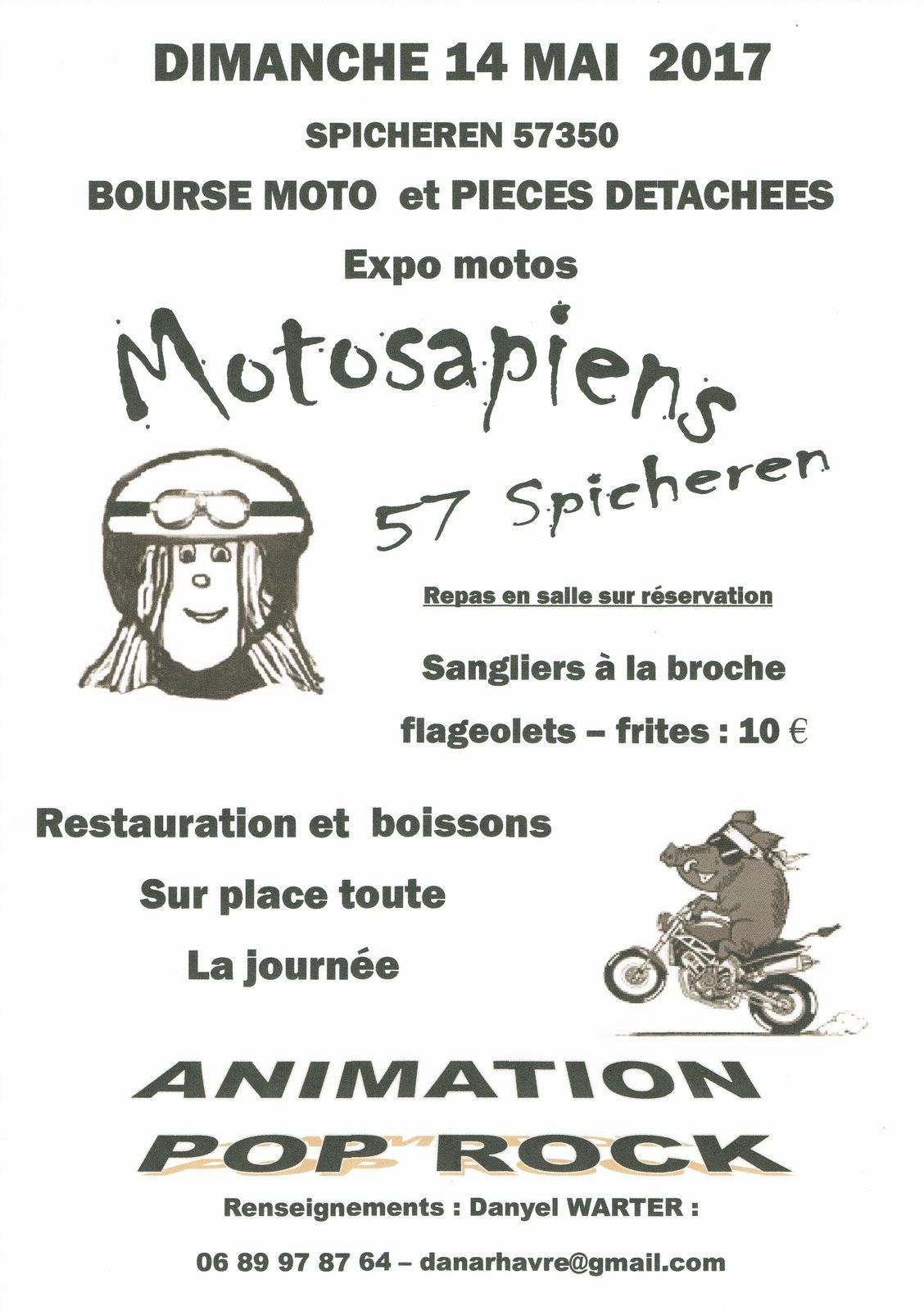 BOURSE MOTO ET PIECES DETACHEES