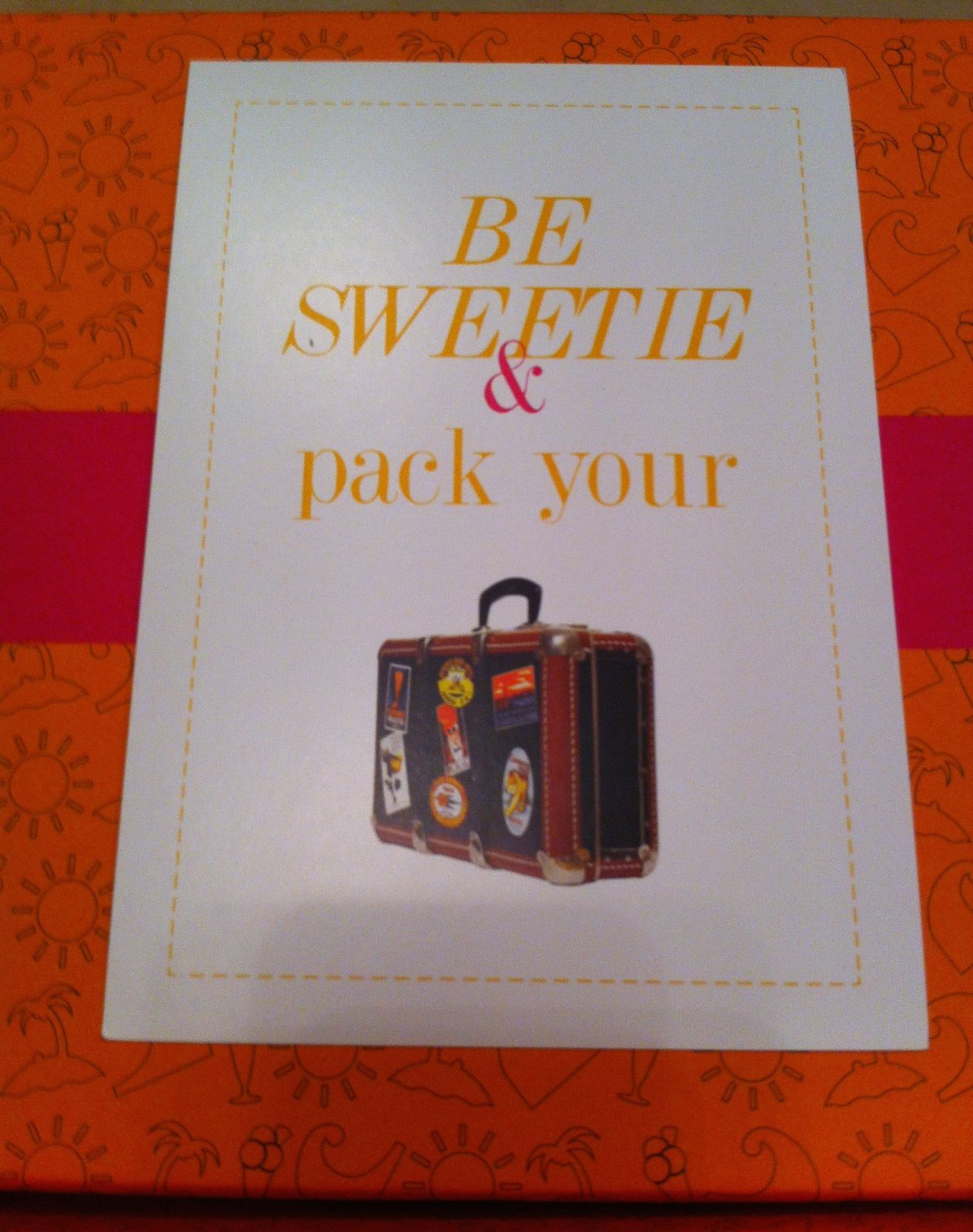 My Sweetie Box Travel Chic