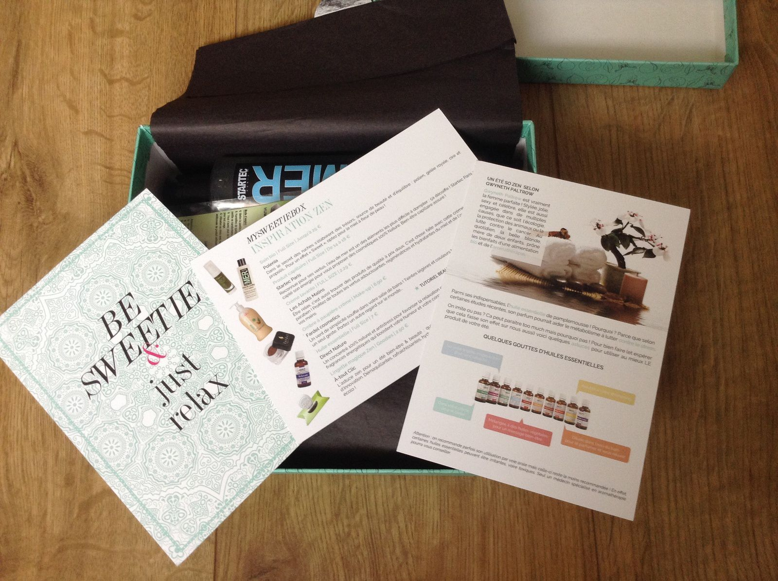 My Sweetie Box: Be Sweetie and just relax