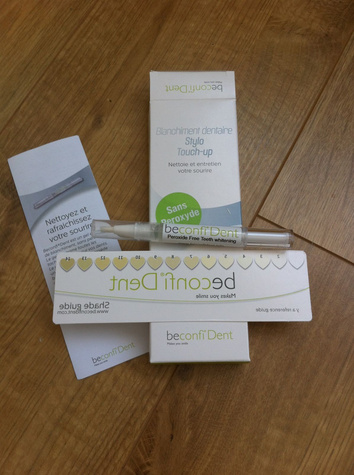 Blanchiment des dents - La solution BeconfiDent