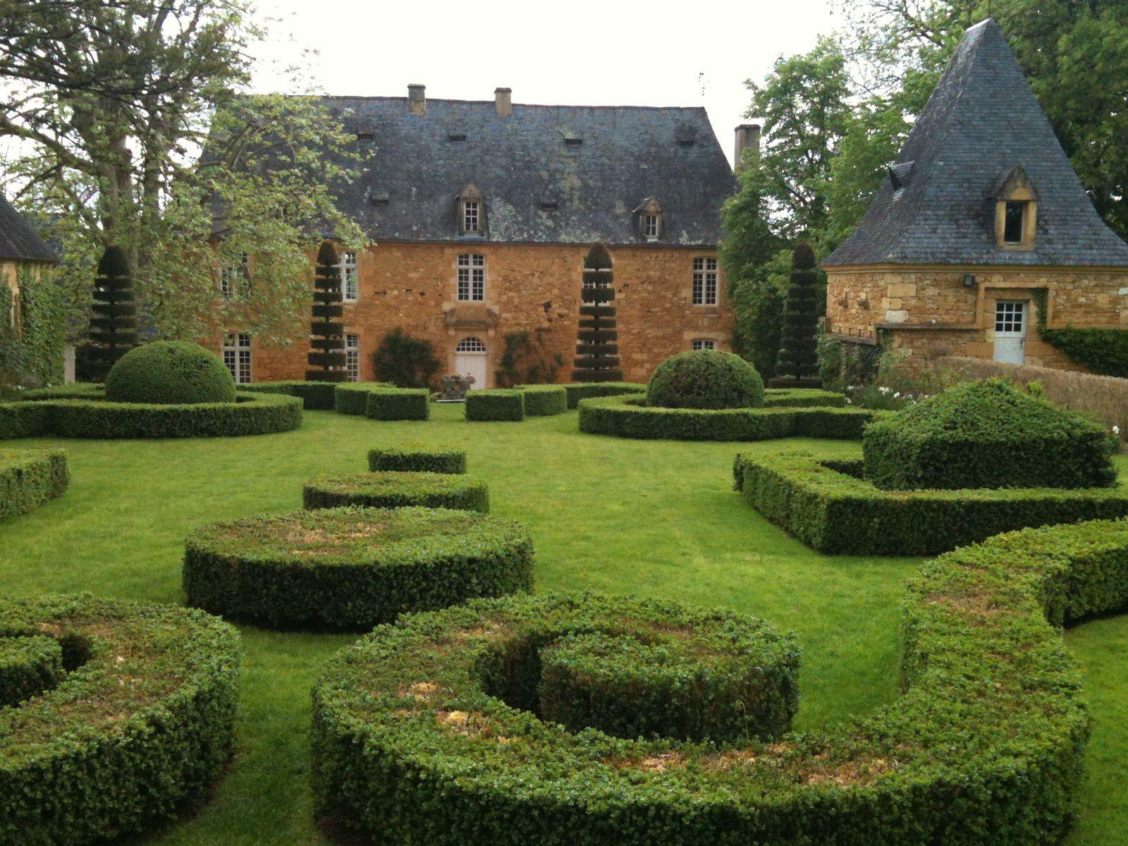 Manoir d Eyrignac Périgord JARDINS MERVEILLEUX