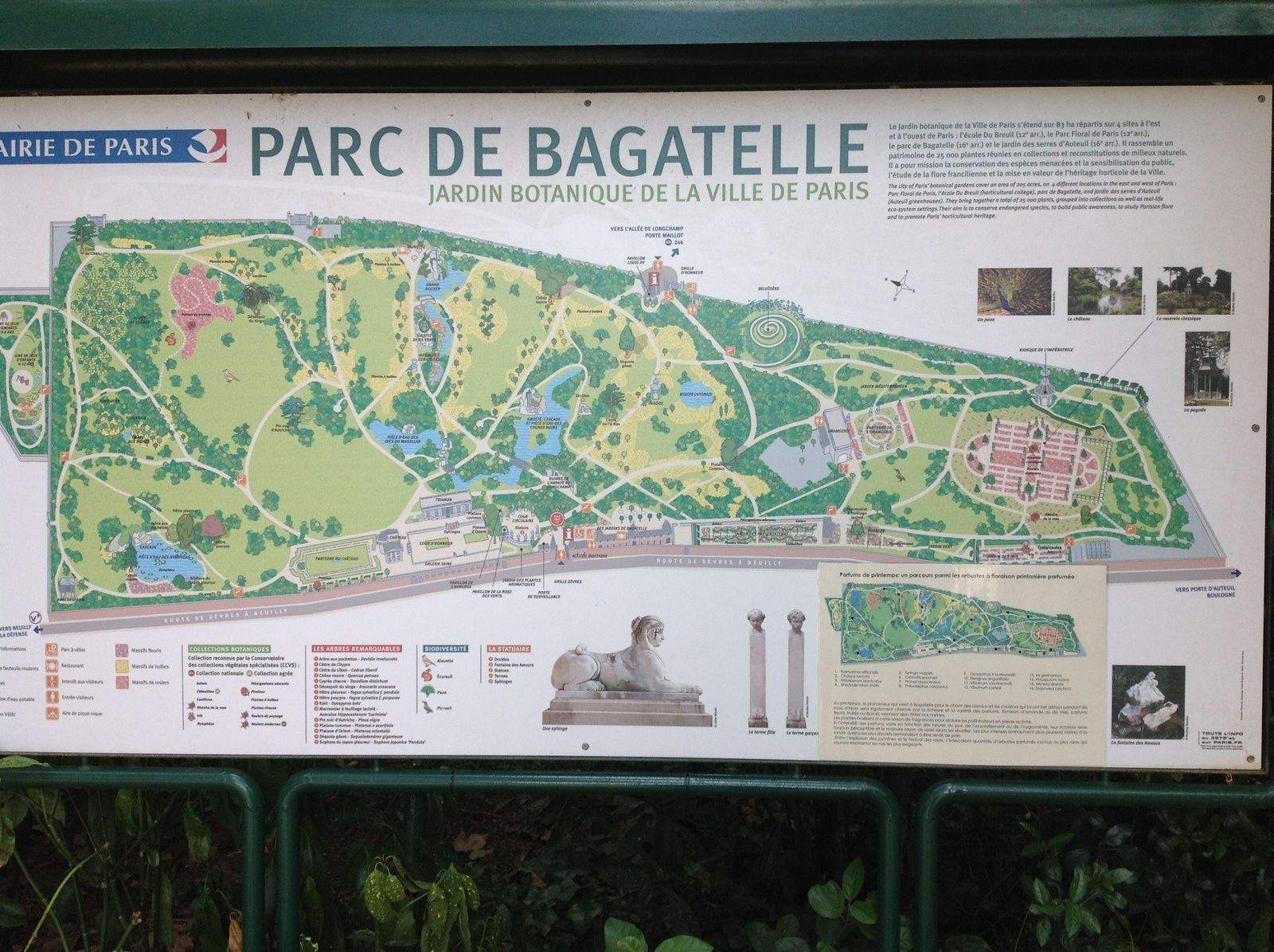 Parc de Bagatelle - Paris