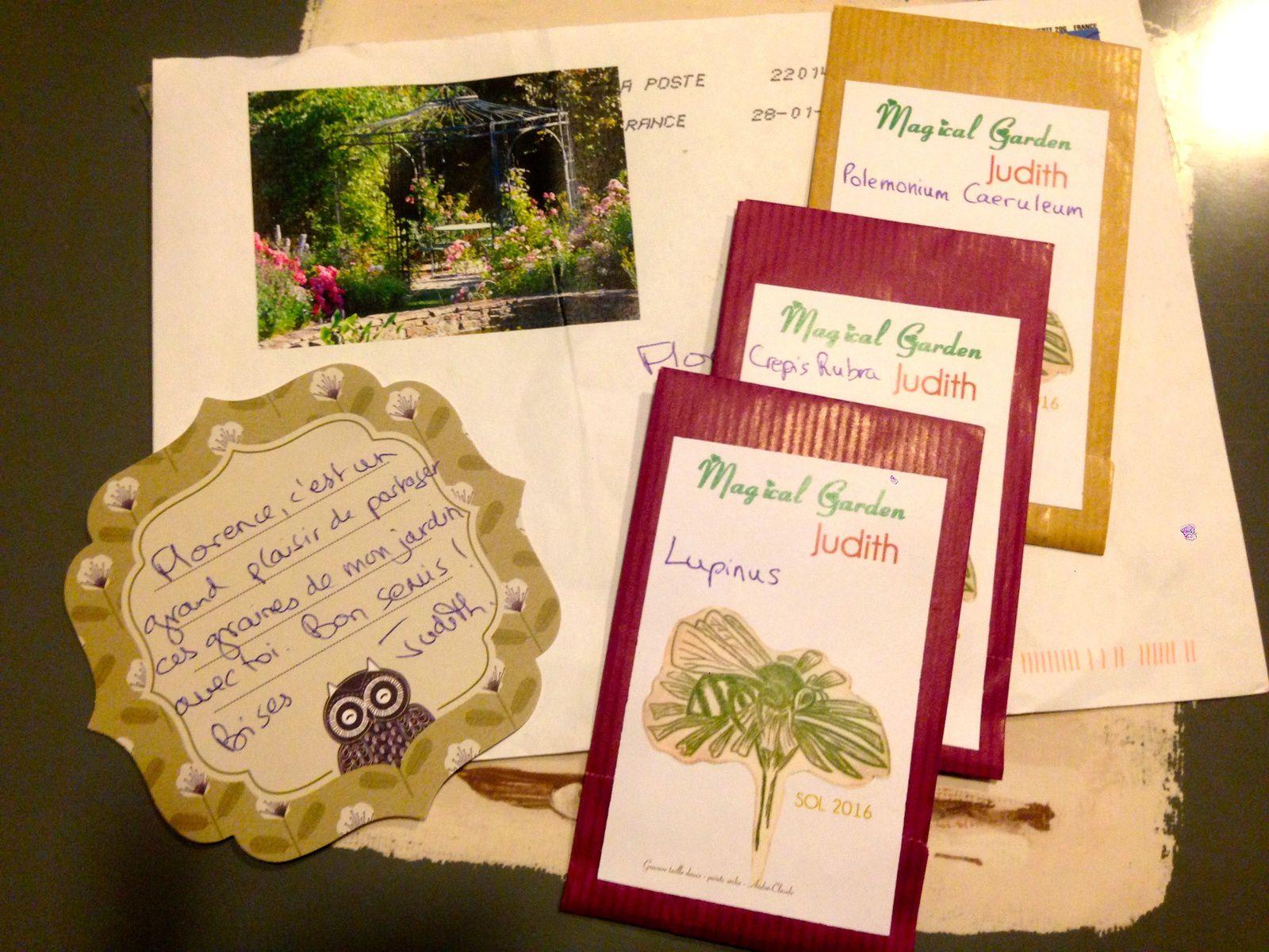 Merci aux seedlovers - Judith de Champagne