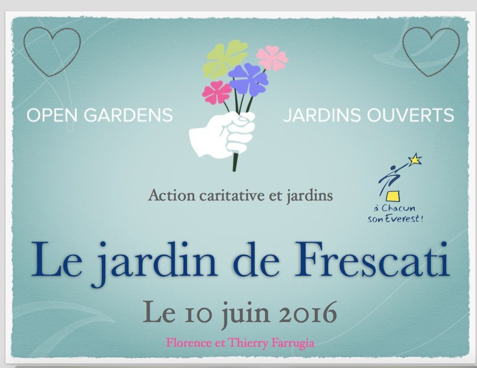 Open Gardens - A chacun son Everest